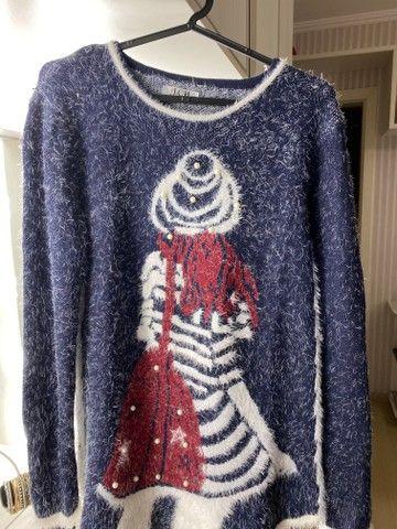 Blusas de inverno Tricot feminino - Foto 2