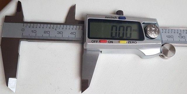 Paquímetro digital novo - grátis um estojo - Foto 4