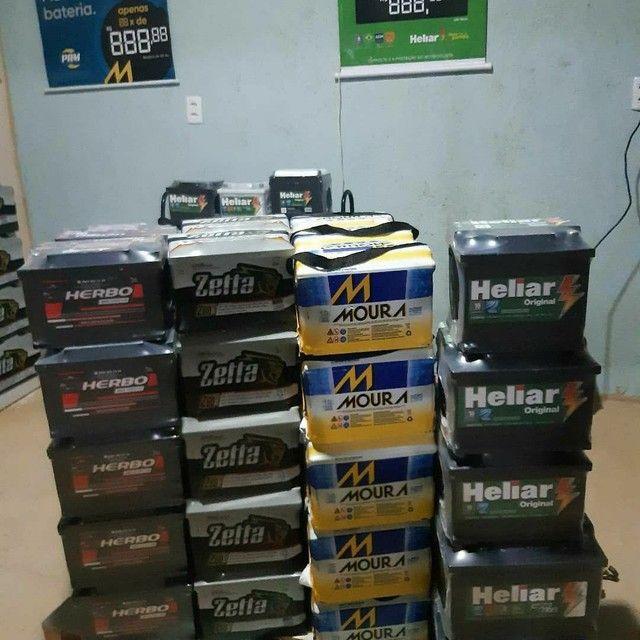 baterias a base de troca novas com garantia  - Foto 2