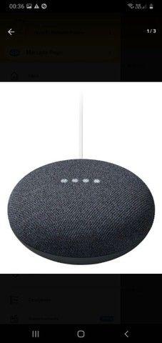 Assistente Google Home Nest Mini 2ª Geração - Foto 3