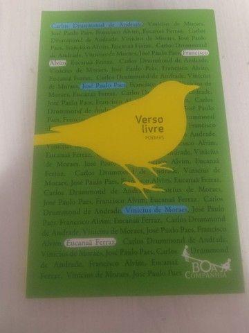 livro Verso Livre