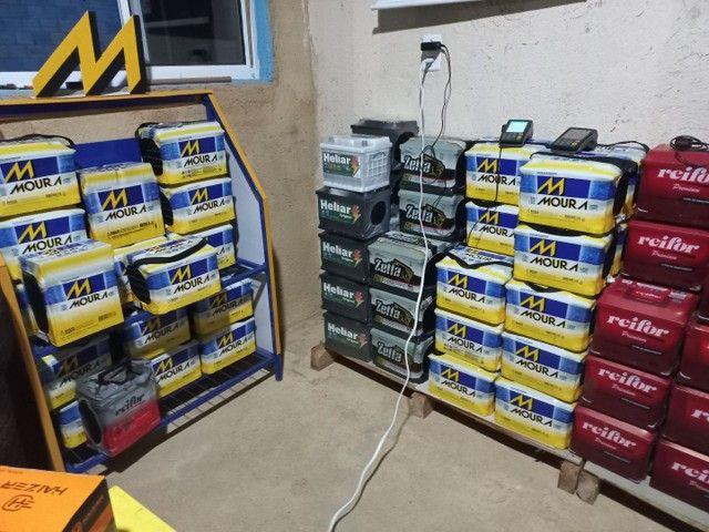 baterias a base de troca novas com garantia  - Foto 4