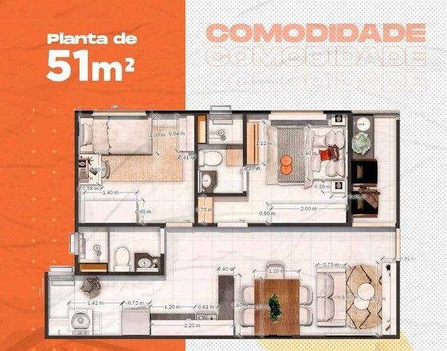 Apartamento para venda tem 51 metros quadrados com 2 quartos em Jangurussu - Fortaleza - C - Foto 10