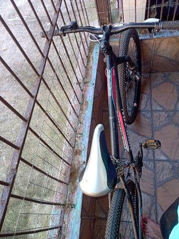 Bicicleta Houston Aro 29 21 marchas preta  - Foto 2