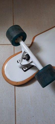Skate Longboard Usado - Foto 2