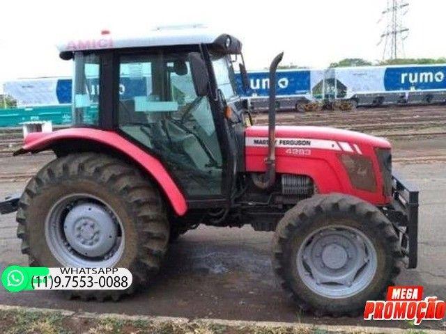 Trator Massey Ferguson 4283 4x4 ano 14 69900 - Foto 2