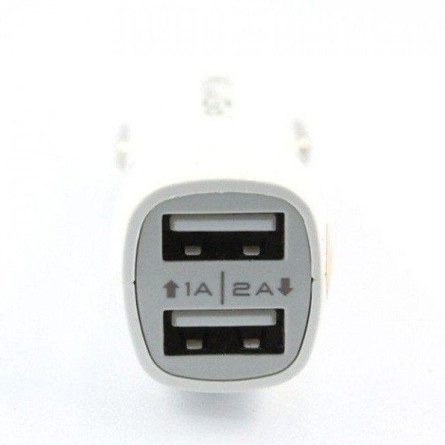 Carregador Veicular USB Duplo - Kingo - Foto 3