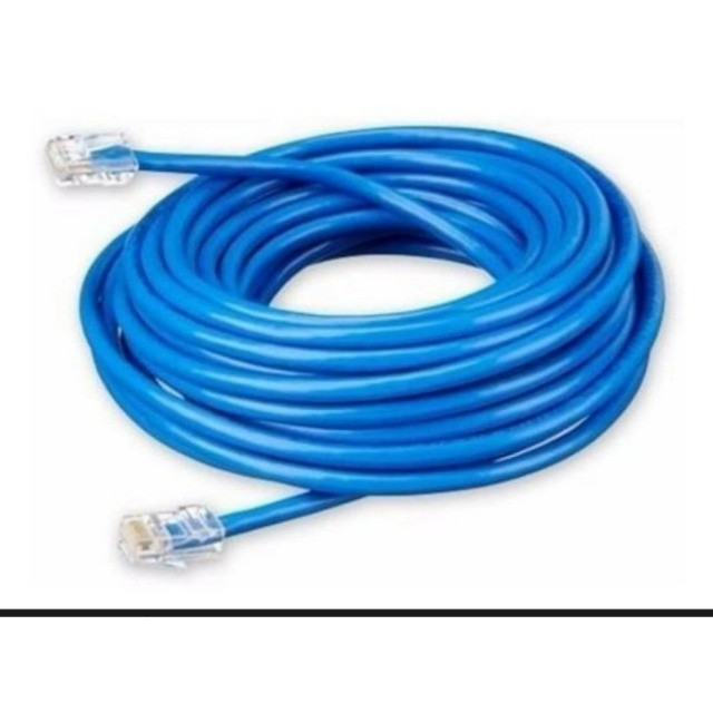 Cabo De Rede 5 Metros Para Ethernet Internet Rede Rj45 IT- Blue Flexível - Foto 3