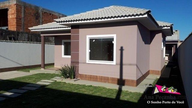 Linda Casa 3qts com Terrenão 480m - Foto 2