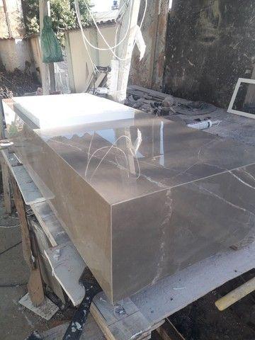 Vendo este lavatório novo em porcelanato Portobello  - Foto 4