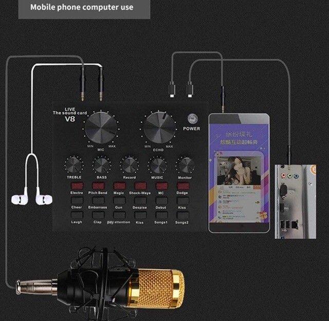 Placa De Som Externo V8 Áudio  - Foto 2