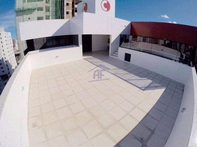 Cobertura com piscina, 192m², 3 quartos (1 suíte) - Edifício Dubai - Ponta Verde