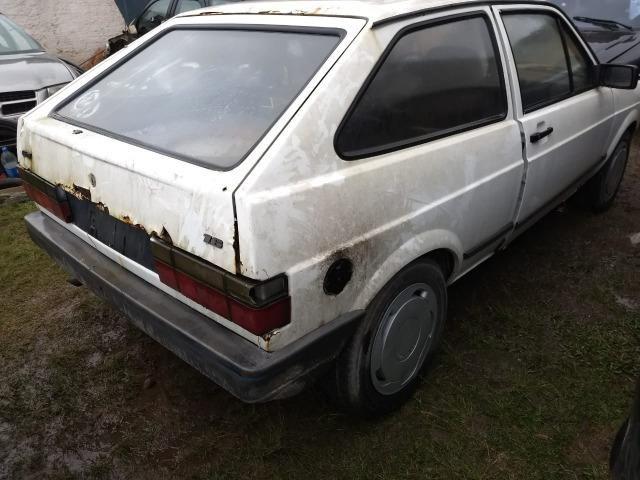 VW Gol Cl 1.0 Cht 1992 Sucata Em Peças Acessorios e Lataria - Foto 2