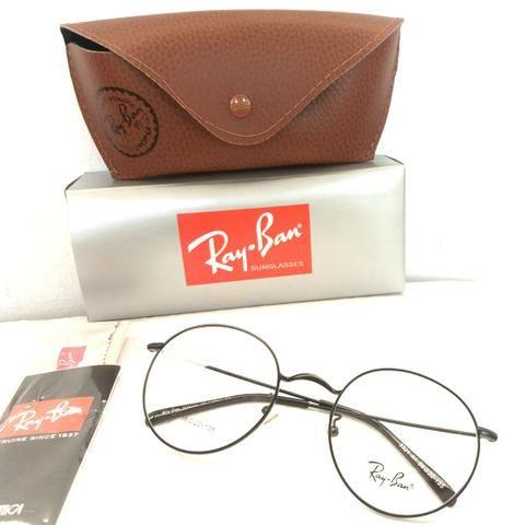 a2e7d7b14 Armação para óculos de grau Ray Ban Round metal - Bijouterias ...