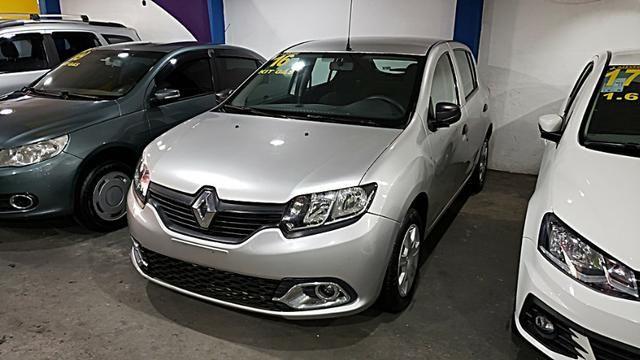 Renault Sandero Authentique - Com Gnv - Foto 3