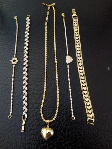 Bracelete,aneis, corrente, pulseira ,pingente personalizado - Foto 3