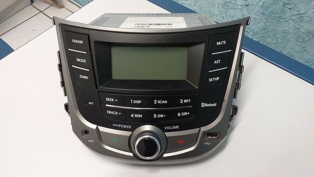 Som Rádio Original Hyundai Hb20 Bluetooth - Foto 2