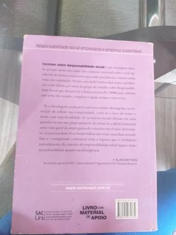 Livro Responsabilidade Social Empresarial e Empresa Sustentável - Foto 2