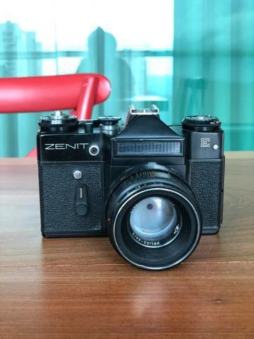 Câmera Analógica Zenit E Vintage - Foto 2