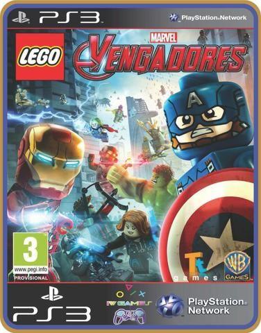 Ps3 Lego Marvels Avengers Vingadores