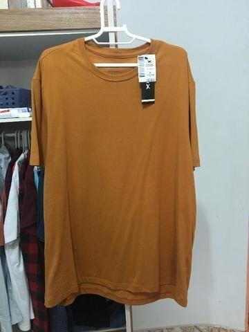 Camisa Básica Hering Algodão - Tam G