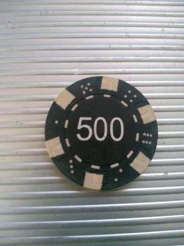 Maleta de poker com fichas - Foto 3