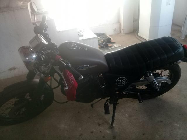 Vende-se Intruder 250cc estilo caferace 7.500 - Foto 2