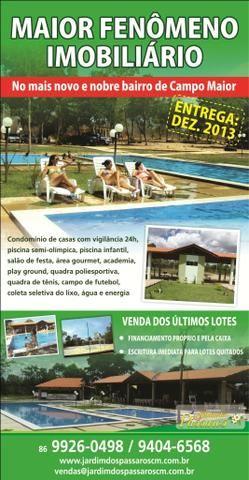 Vendo casa em acabamento dentro de condomínio-Campo Maior-PI - Foto 7