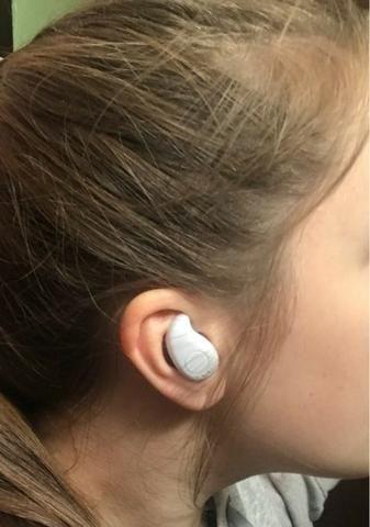 Mini Fone Sem Fio Via Bluetooth Acessorio de Celular - Foto 6