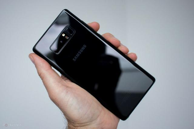 Galaxy Note 8 Preto 64gb com capa e carregador wireless - Foto 5