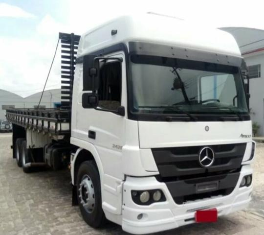 Mb Atego 2426 truck carroceria