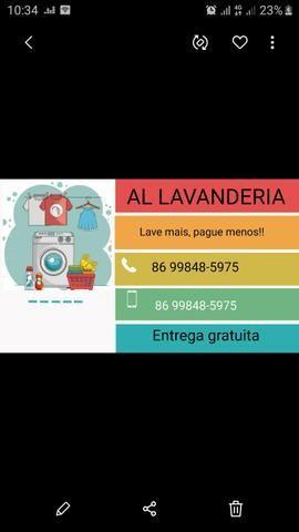 Lavanderia Al, lave mais paque menos - Foto 3
