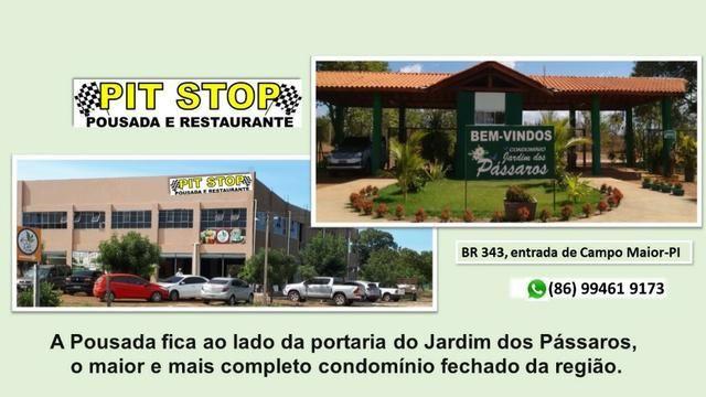 Vendo casa em acabamento dentro de condomínio-Campo Maior-PI - Foto 9