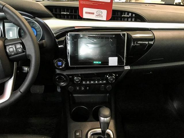 TOYOTA HILUX CD DSL 4X4 SRV AT 19/20 - Foto 8
