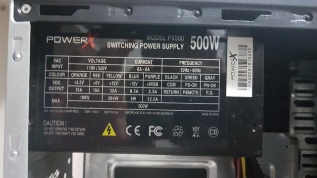 Computador COMPLETO I5 4460 - 8gb RAM - 1 tb - GTX 750 ti - Foto 2