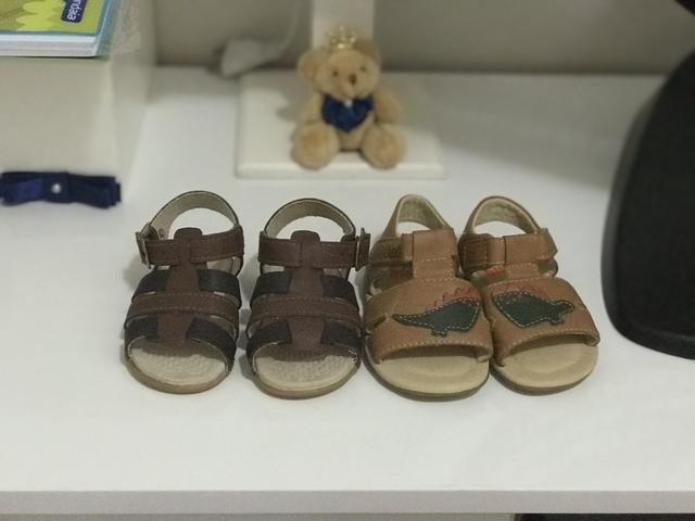 Sandalha bebe menino
