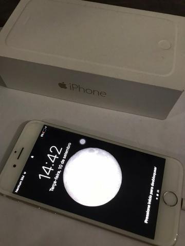 Iphone 6 gold 16gb (com defeito - ler descrição)