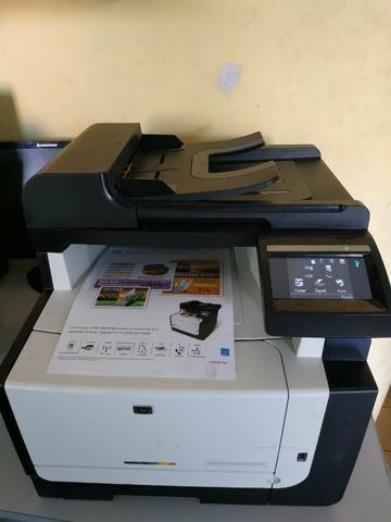 Impressora colorida,leser multifuncional( xerox,impressão,scanner) - Foto 3