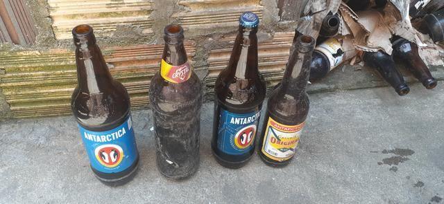Vendo garrafas de cervejas