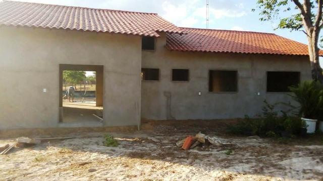Vendo casa em acabamento dentro de condomínio-Campo Maior-PI - Foto 2