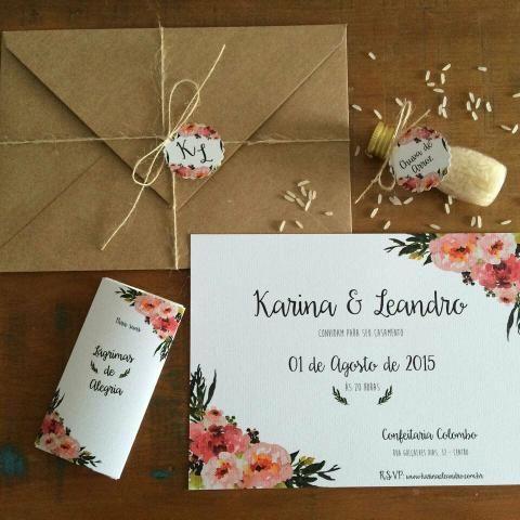 Personalizado convite aniversário e casamento
