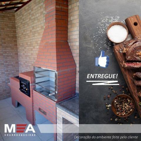Trio estampado tijolinho pintado é na MA Churrasqueiras - Foto 5