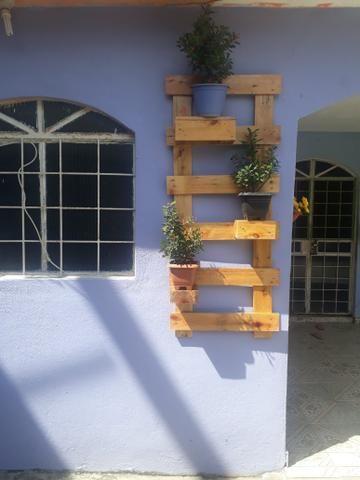 Jardim de plantas - paletes - Foto 3
