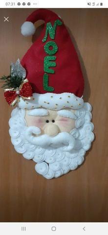 Aceitamos encomendas Papai Noel em feltro