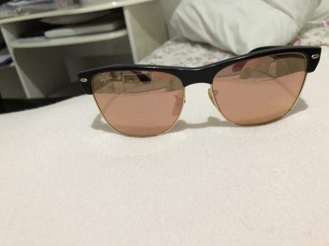 Óculos De Sol Ray Ban Clubmaster rosê - Bijouterias, relógios e ... 39d7cc20e1