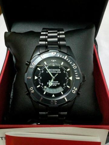 Relógio Technos Chronoalarm Skydiver - Bijouterias, relógios e ... 7e9b6ffa46