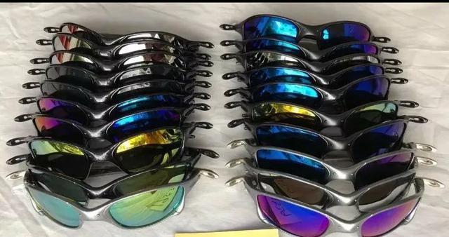 88ec782c1fa91 Atacado 20 Óculos de Sol juliet metal Unissex Kit Barato Revenda Promoção