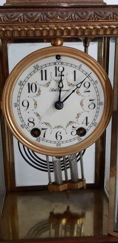 Relógio antigo de Mesa / Balcão ST Thomas  - Foto 2