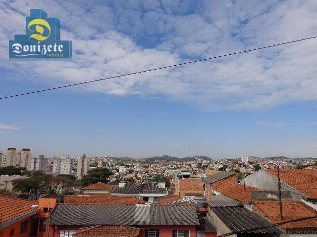 Sobrado residencial à venda, Vila Alzira, Santo André. - Foto 6