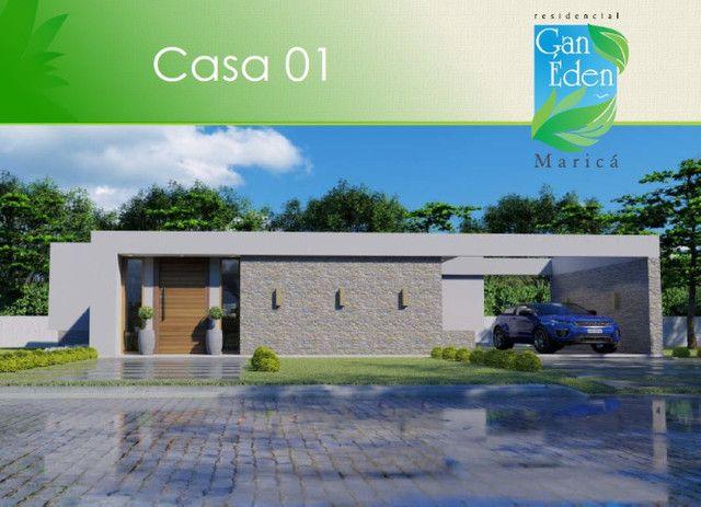 Casas a venda no condomínio Gan Éden Maricá - 3 suítes !! - Foto 2